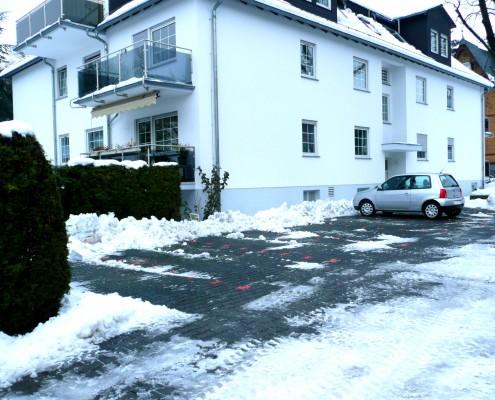 Schnee im Vordertaunus